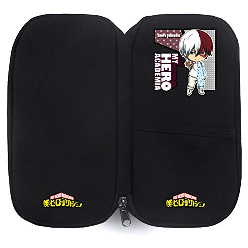 mia Pencil Case, Large Capacity Stationery Pouch Bag with Zipper for Kids Teens Adults and Anime-Fans(Todoroki Shoto) ()