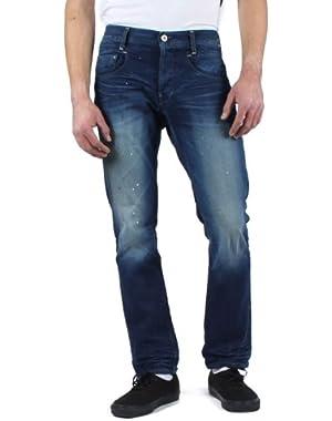 Mens New Radar Slim Fit Jeans in Medium Aged