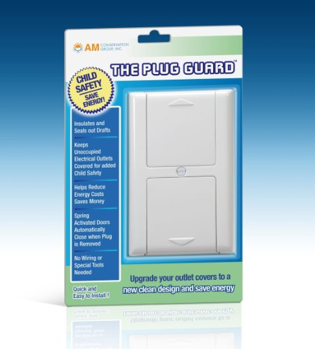 Elec Outlets - Simply Conserve Plug Guard Outlet Cover