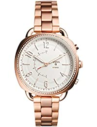Women's Accomplice Stainless Steel Hybrid Smartwatch, Color: Rose Gold (Model: FTW1208)