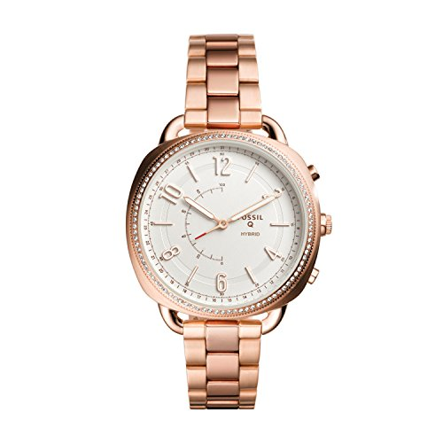 Fossil Hybrid Smartwatch - Q Accomplice Rose Gold-Tone Stainless Steel FTW1208 by Fossil