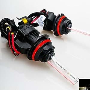 MK- 55w 12v 9004 4300k haz hi xenón / lo escondió bombillas de repuesto para la linterna