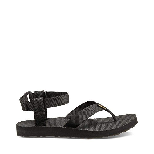 Teva Water Shoes (Teva Women's Original Sandal,Black,8 M US)