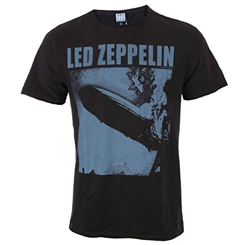 Led T Shirt Noir Voqaqz5w4 Zeppelin Square Blimp Homme Amplified CsQdtrh