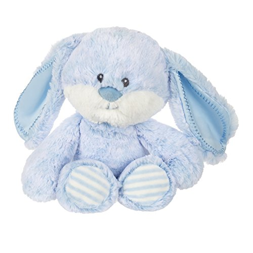 Aurora World Huggie Plush, Baby Bunny, Blue