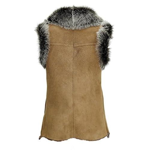 DX-Exclusive wear - Chaleco - Parka - para mujer delicate - dev ... 61ce4791cc72