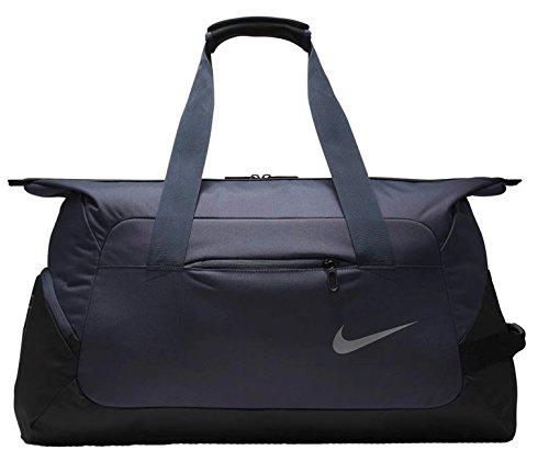 Nike Court Tech Duffle Duffel Bag (Thunder Blue/Black) by NIKE