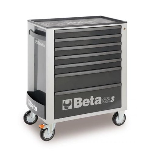 C24S 7/G-MOBILE ROLLER CAB 7 DRAW. GREY by Beta Tools