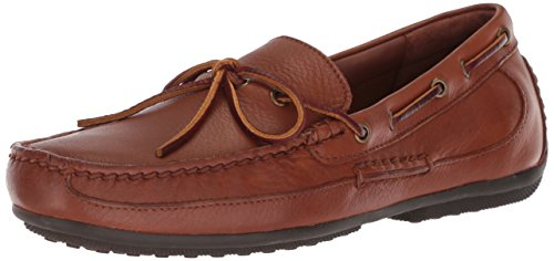 Polo Ralph Lauren Men's Roberts Driving Style Loafer, Deep Saddle Tan, 11 D US (Lauren Loafers)