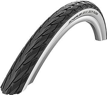 Neumáticos Set Bicicleta y silla de ruedas 24 x 1-3/8 (37-540) Negro/blanco: Amazon.es: Deportes y aire libre