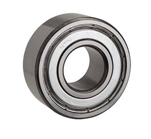 NTN Bearing 6206Z Single Row Deep Groove Radial Ball Bearing, Normal Clearance, Steel Cage, 30 mm Bore ID, 62 mm OD, 16 mm Width, Single Shielded, Open One Side ()