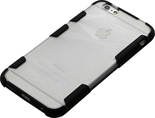 The Kase 36833790Schutzhülle für iPhone 6/6S Motiv Diamant Schwarz