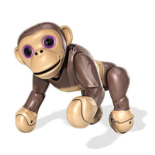 Zoomer Chimp, Interactive Chimp with Voice Command, Movement