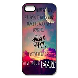 Pierce The Veil, Personalized TPU Snap On Cover For Iphone ipod touch4