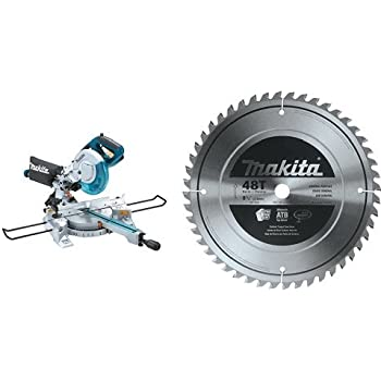 how to change blade on makita miter saw