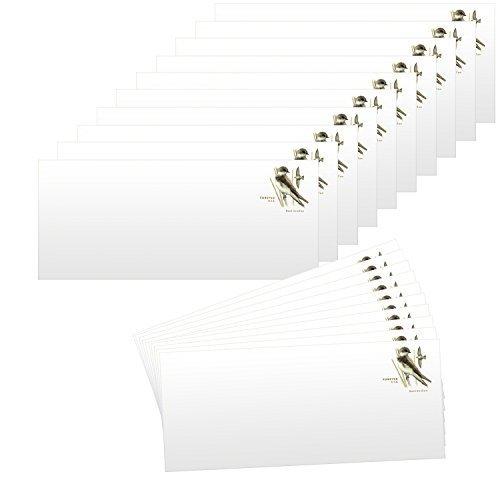 Self Stamped Envelope - 20 Forever Stamps Stamped Envelopes - #10 Envelopes (4-1/8 x 9-1/2 Inch) Stamp Design May Vary