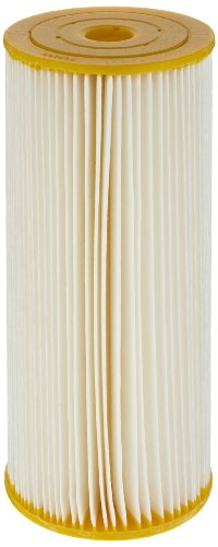 Pentek ECP50-BB Pleated Cellulose Polyester Filter Cartridge, 9-3/4