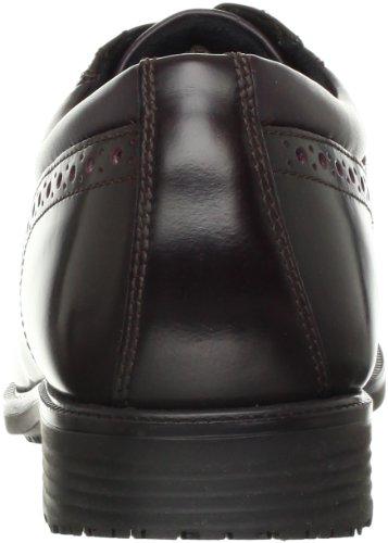 Dettagli Essenziali Rockport Water Wing Tip Tip, Scarpe Stringate Uomo Cordovan Rosso 42