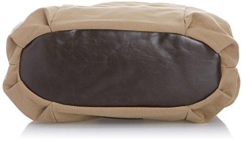 Chiemsee Umhängetasche Schultertasche 35x33x14cm Shoulderbag Sand 0603 Bowatex