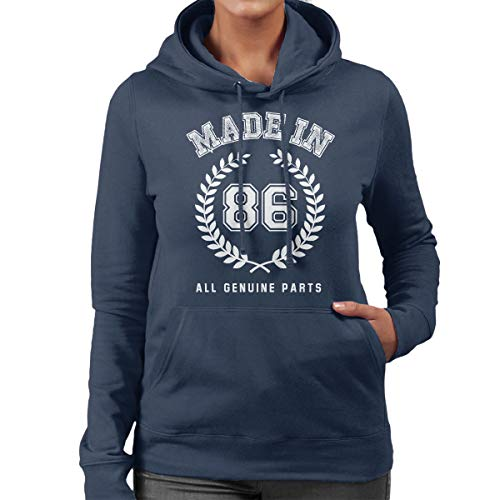 In Sweatshirt Women's Genuine Parts 86 Coto7 All Made Hooded 58xYnTH