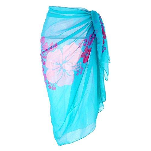 Ayliss Womens Swimwear Chiffon Cover up Beach Sarong Pareo Bikini Swimsuit Wrap,#5