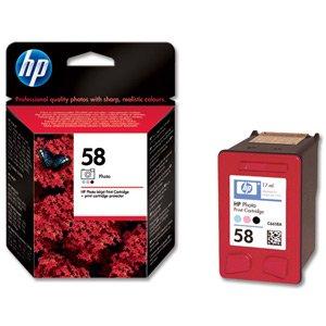 - Hewlett Packard [HP] No. 58 Inkjet Cartridge Page Life 125 Photos/390pp 17ml Photo Colour Ref C6658AE