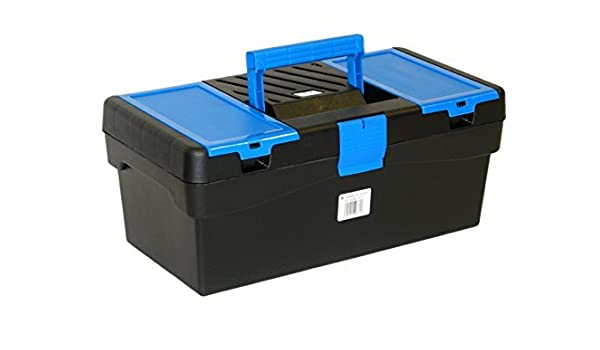 Basic tayg (caja de herramientas 400 x 217 x 166 mm, Negro/Azul ...