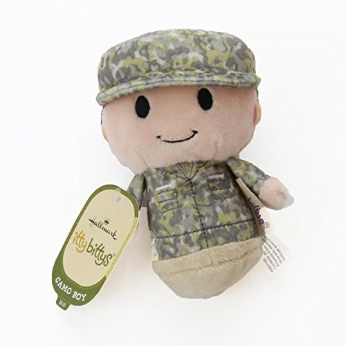 Hallmark itty bittys Green Soldier Boy Stuffed Animal Camo Itty Bitty from Fane