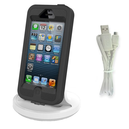 save off 1c58c ac579 RND Apple Certified Lightning to USB dock for the iPhone (6 / 6 Plus / 6S/  6S Plus/ 5 / 5S / 5C) or iPod Touch Data Sync and Charge 8-Pin Dock. ...
