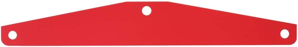 GG Grand General 30040 Red 24 X 4 Inches Plastic Backing Sheet