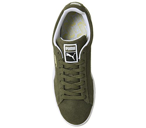 Low Suede Classic White Trainers Olive Puma Top Puma Unisex Capulet Adults' RIFTRqU