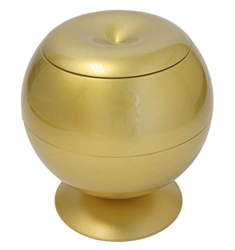 iTouchless Sensor Desktop Gold Automatic Trash Can 2.8 Liter – Decorative for Kitchen Countertop, Bedroom, Living Room, Office ()