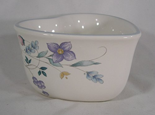 Pfaltzgraff Tea Rose Heart (Pfaltzgraff April Pattern Heart Shaped Ramekin or Condiment Server)
