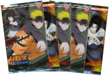 Naruto Foretold Prophecy Booster Pack Lot of 5 [Toy] ()