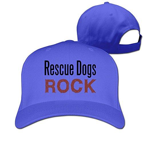 Perros de rescate Rock ajustable Equipada sombrero: Amazon.es ...