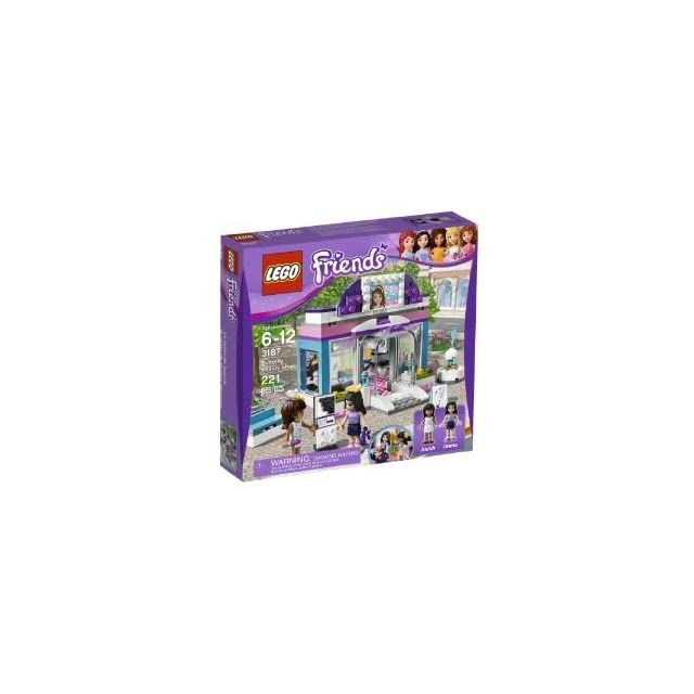 Toy / Game Pretty Lego Friends Butterfly Beauty Shop 3187   Sarah Mini Doll Figures W/ Bench & Salon Furniture