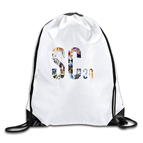 Price comparison product image JADR Custom Stephen SC Curry Baketball Player Funny Teenager Travel Bag White