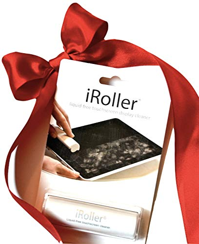 iRoller Screen Cleaner: Reusable Liquid Free Touchscreen Cleaner for Smartphones and Tablets - Immediately Sanitizes - Easy to Use and Incredibly Effective on any Touch Screen