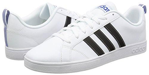 adidas VS ADVANTAGE - Zapatillas deportivas para Hombre, Blanco - (FTWBLA/NEGBAS/AZUL) 38 2/3