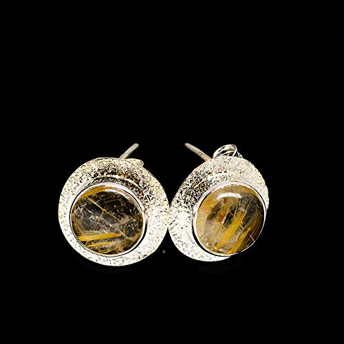 Ana Silver Co Rutilated Quartz Earrings 1/2