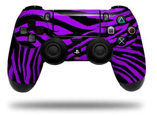 Vinyl Decal Skin Wrap compatible with Sony PlayStation 4 Dualshock Controller Purple Zebra (PS4 CONTROLLER NOT INCLUDED)