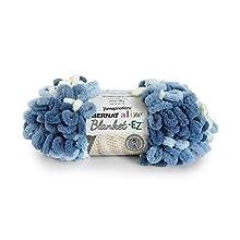Bernat 16103737020 Alize Blanket-EZ Yarn, Denim Blues