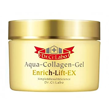 Japan Health and Beauty - [Dr. Ci: Labo] Aqua-Collagen-Gel Enrich-Lift EX 120g 10/25 renewal (parallel import goods)AF27