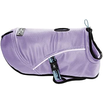 Hurtta Pet Collection Cooling Coat, 10-Inch Length, 13-Inch Neck, 12-19-Inch Chest, Lilac