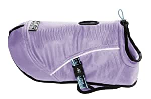 Hurtta Pet Collection Cooling Coat, 24-Inch Length, 22-1/4-Inch Neck, 28-36-Inch Chest, Lilac