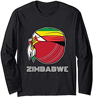 [Featured] Zimbabwean Cricket Kit 2019 Zimbabwe International Fans Gift Long Sleeve in ALL styles | Size S - 5XL