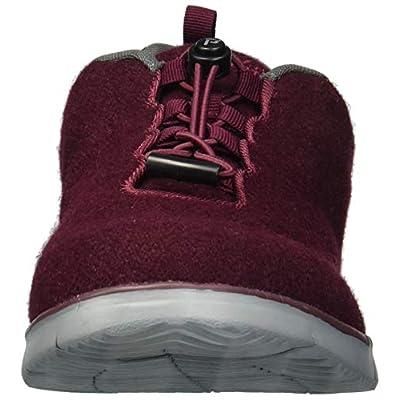Propet Women's TravelFit Prestige Sneaker, Burgundy Flannel, 9H Narrow US | Shoes