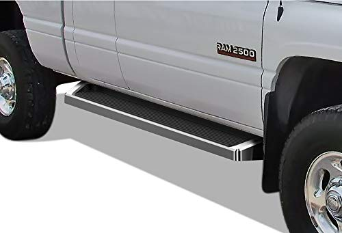 99 Dodge Ram Club Cab - APS iBoard Running Boards Style Custom Fit 1994-2001 Dodge Ram 1500 Club Cab & 1994-2002 Ram 2500/3500 (Nerf Bars | Side Steps | Side Bars)