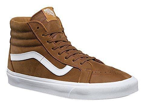 Vans Mens SK8-Hi Reissue Sneaker Dachshund/True White Size 10.5 M US Women / 9 M US Men (Sk8 Hi Shoes)