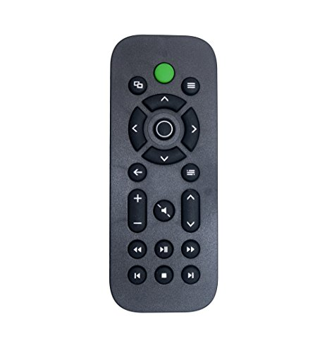 Rayability Wireless TV Remote Controller for Xbox One Media, Xbox One Controller with No Channel Number Buttons, Black